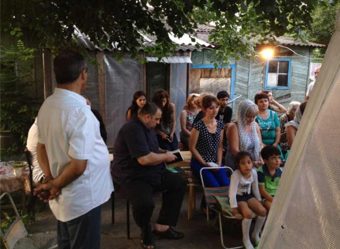 крещение и проповедь
